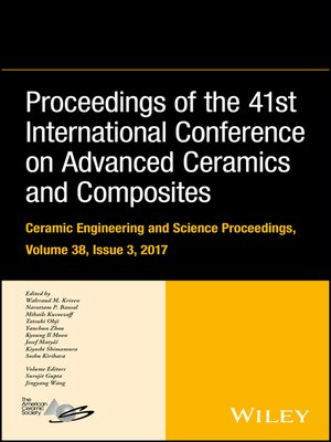 cover image of Proceedings of the 41st International Conference on Advanced Ceramics and Composites